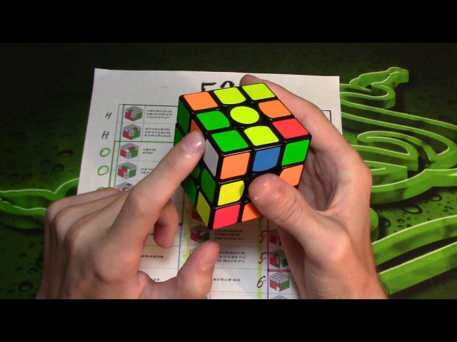 F2L Алгоритмы (Часть 2)