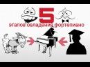5 ЭТАПОВ ОВЛАДЕНИЯ ФОРТЕПИАНО или другого инструмента МУЗЫКАЛЬНОЕ РАЗВИТИЕ