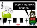 1 урок Основное НОТНЫЙ СТАН СКРИПИЧНЫЙ и БАСОВЫЙ ключ РИТМ МЕТР РАЗМЕР Курс MUSIC THEORY