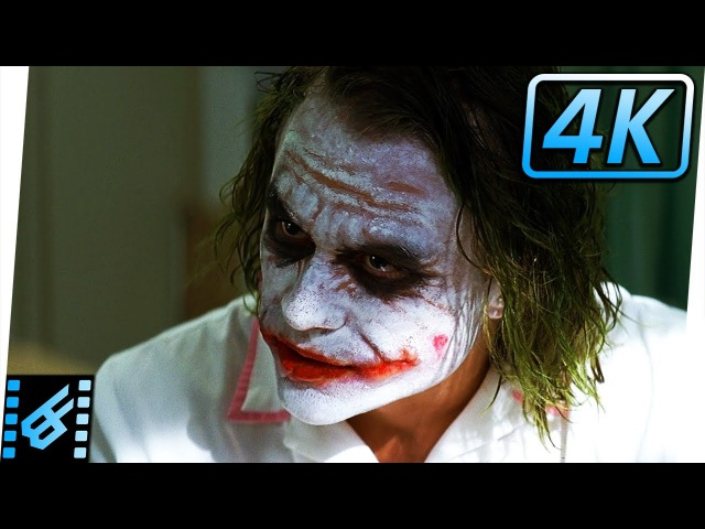 Two-Face Joker Hospital Scene | The Dark Knight (2008) Movie Clip