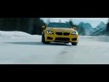 BMW M6 F13 Crazy Snow Drift   Amazing Video