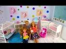 Как сделать Домик для кукол Барби Своими руками Спальня Детская Комната Игрушки