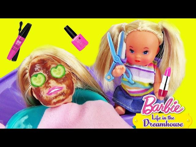 Мультик Барби в салоне Красоты Девочка и мама Видео для детей ♥ Barbie Original Toys