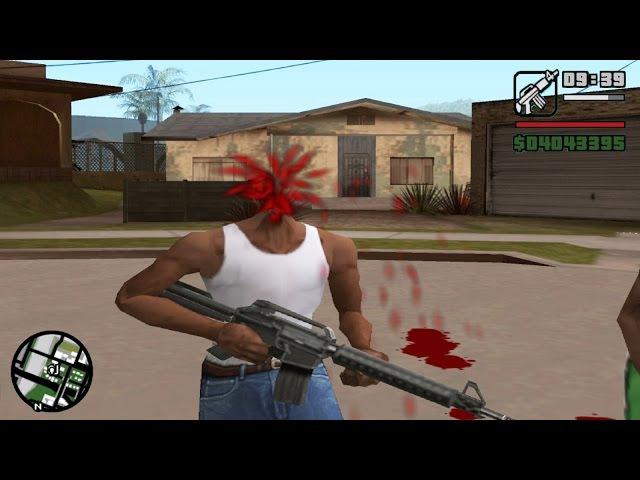 GTA San Andreas Best Glitches