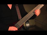 Соло на восьмиструнной гитаре Agile Hornet 827