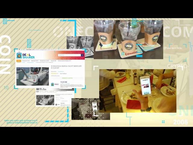 Фантастические покупки в сети Onelife за криптовалюту Onecoin на платформе Dealshaker