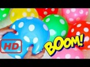 """The Balloons Popping Show"" for LEARNING COLORS w/ Surprise Eggs  - Children's Educational - part 2"