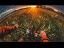 По харду. Amazing GoPro. Велосипедист-экстремал.