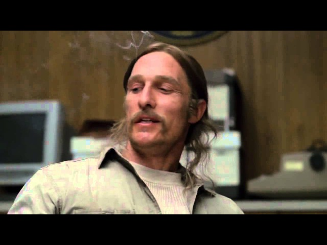Rust Cohle Says Shit