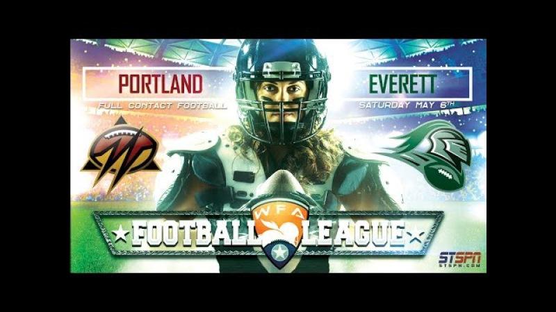 Portland Shockwave at Everett Reign