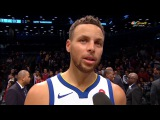 Stephen Curry Postgame Interview / GS Warriors vs Nets / Nov 19