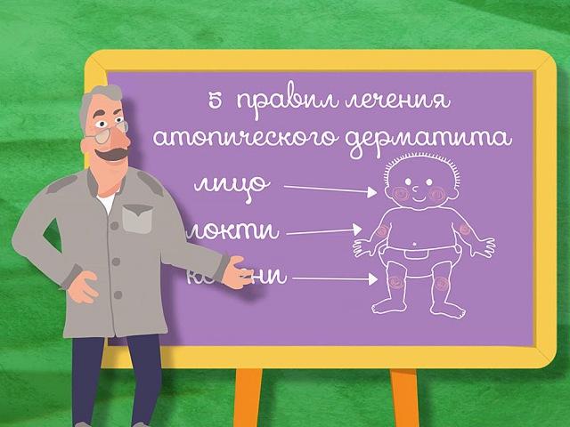 Школа Доктора Комаровского: 5 правил лечения атопического дерматита