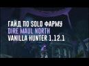 Голд фарм Dire Maul N - Hunter Vanilla 1.12.1