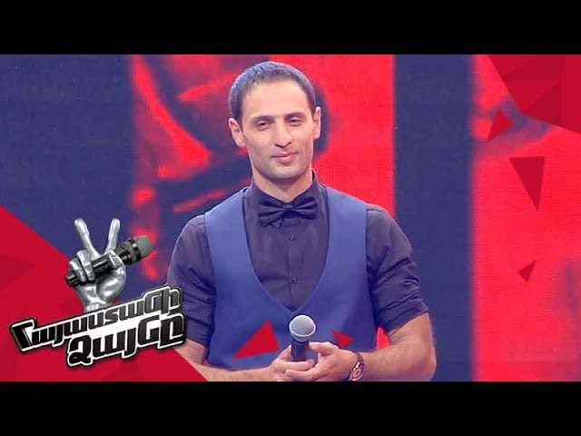Aram Meliqyan sings 'You Are so Beautiful' - Blind Auditions - The Voice of Armeni - Season 4