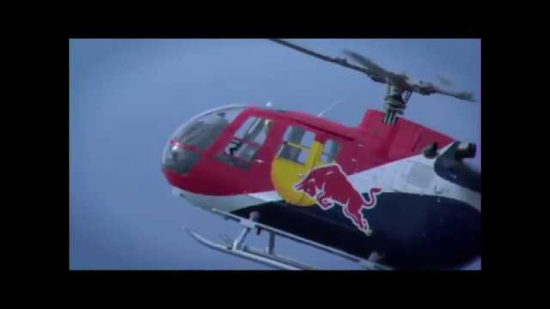 Высший пилотаж на вертолете от пилота Red Bull Чака Аарона