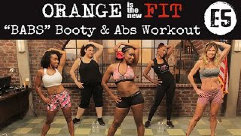 Orange is the New Fit Episode 5: BABS Booty Abs Workout​​​ | TiffanyRotheWorkouts​​​