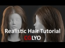 CGLYO Realistic Female Hair Tutorial with XGen Redshift Part02