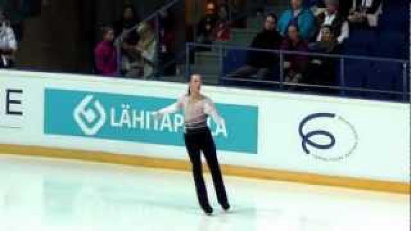Finlandia Trophy 2012 Johnny WEIR FP kisscry
