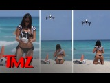 Half-Naked Italian Model Meets Drone