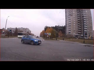 Слепой на AUDI - Снежинск 16 октября 2017