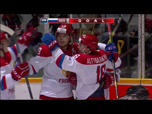 CIBC Canada Russia Series. Россия U20 - Канада U20 (OHL) - 5:2. Видеообзор
