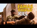 FAMAS TRIPLE KILL ( -3 ) DUST 2 (MM ) ( CSGO ) HyperXSensei