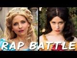 CINDERELLA vs BELLE Princess Rap Battle (Sarah Michelle Gellar &amp Whitney Avalon)