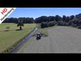 Raking the Grass  Deutz-Fahr + Krone + Case IH  Gras harken  Heerikhuize  NAP  2017.
