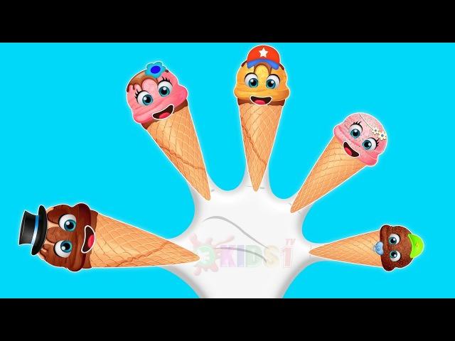 Ice cream finger family collection | Ice Cream Finger Family Song | Top Finger Family Songs