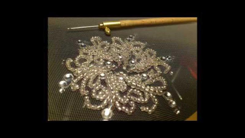 Евгения васильева вышивка люневильским крючком 16