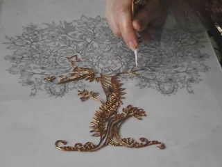 Зачарованное дерево с птицами