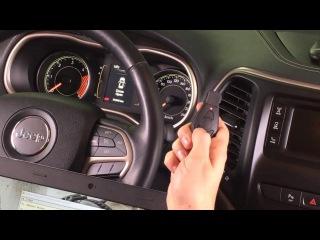 Программирование с помощью Abrites ключей Jeep Cherokee 2014+ при их полной потере