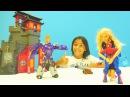 Kaçırma oyunları 🕸💣 TRANSFORMERS Barbie götürdü Örümcek Adam gel TOPtan kale bombalama oyunu