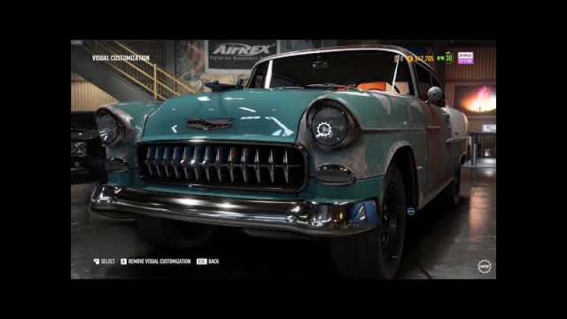 Chevrolet Bel Air Derelict Part Locations Guide (NFS Payback)