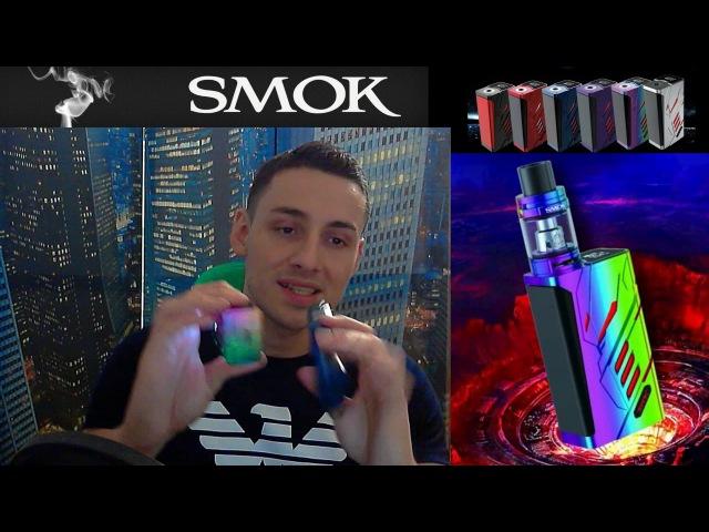 КРАСОТА Smok T-Priv 220w Box Mod Review | LightShow