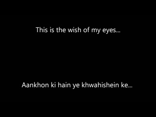 Soch Na Sake with English Subtitles - Lyrics