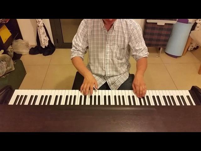 Украинская песня Смерека Микола Гнатюк пианино кавер