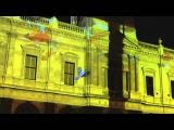 2015 Ballarat Winterlude Town Hall projection