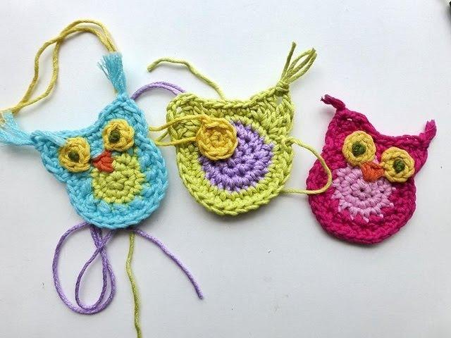 Advent Calendar * December 02, 2012 * Tiny Crochet Owl for Decoration
