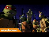 Черепашки-ниндзя  1 сезон 2 серия  Nickelodeon Россия