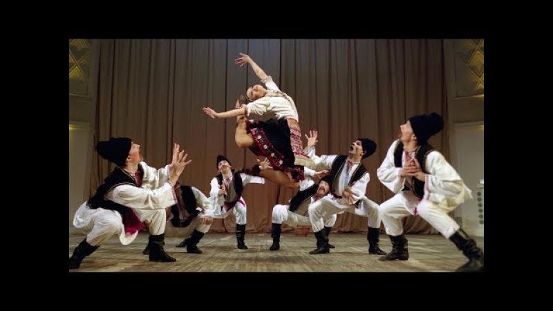 Молдавский шуточный танец