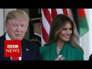 Melania Trump wins damages from Daily Mail over 'escort' allegation - BBC News