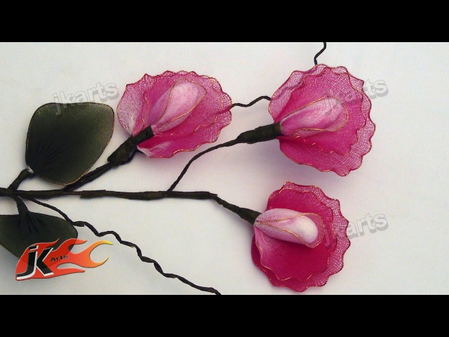 DIY Stocking Flower Sweet Pea JK Arts 121