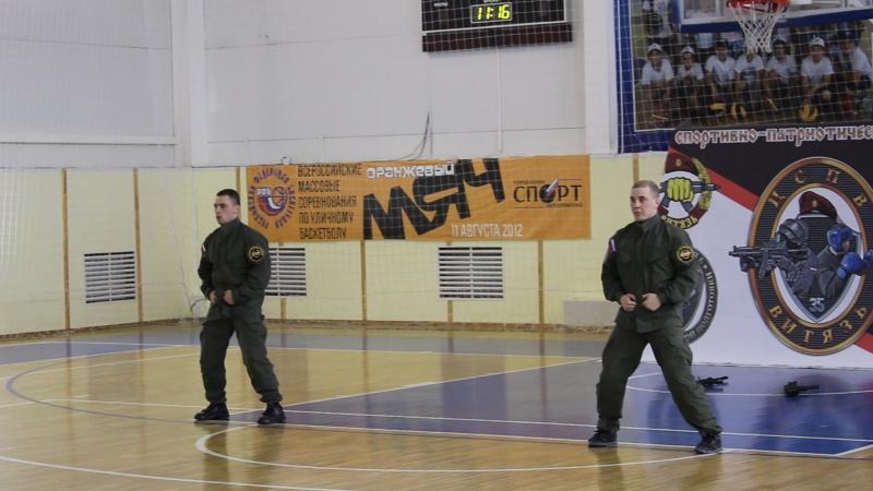 Бойцы отряда специального назначения Витязь
