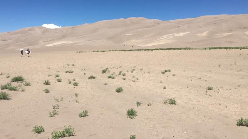 Звук Песчаных Дюн (Great Sand Dunes National Park, Colorado, USA)