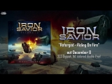 IRON SAVIOR - Riding On Fire (2017) __ official audio __ AFM Records