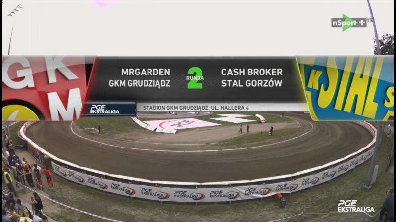 MRGARDEN GKM Grudziądz - Cash Broker Stal Gorzów (16.07.2017)