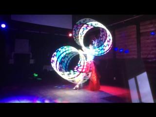 Livevideo от заказчика - световое шоу на 1 артиста