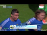 Красивый гол Криштиану Роналду.