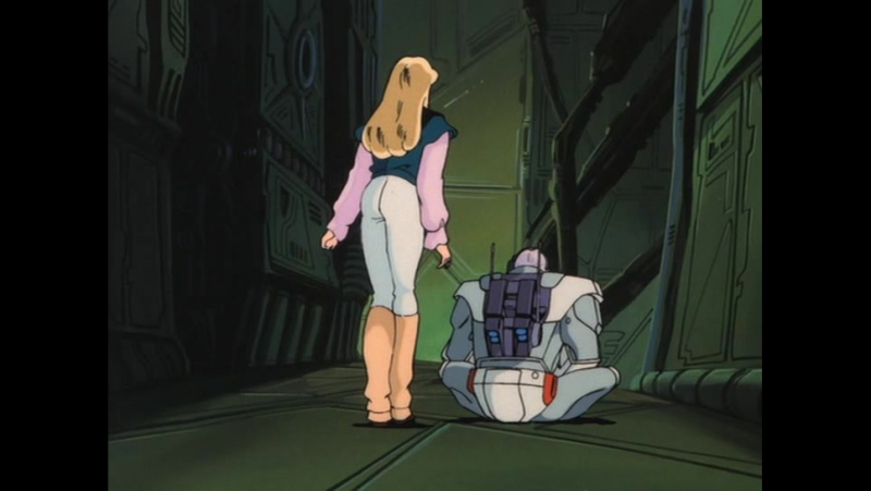 Dallos / Даллас OVA (1983) - 4 серия rus sub